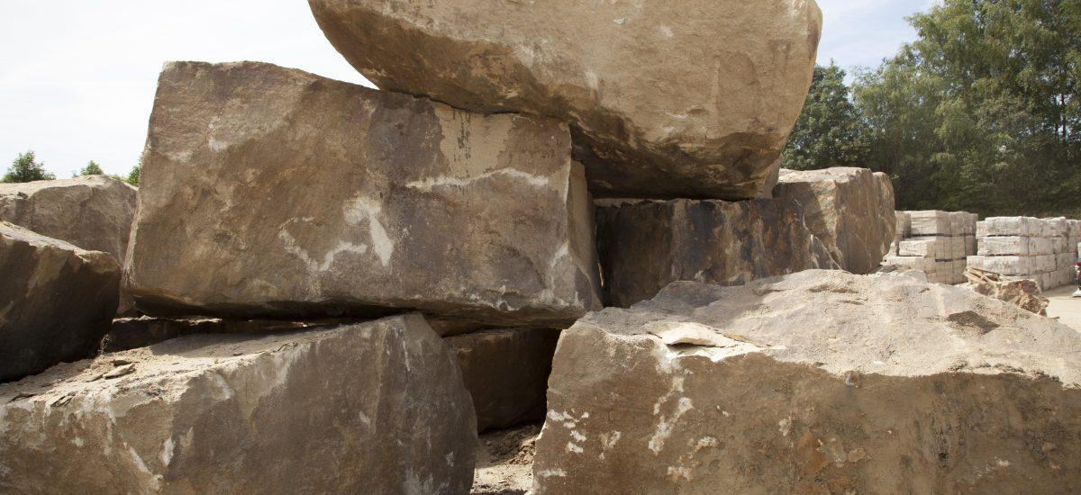 Large stone blocks